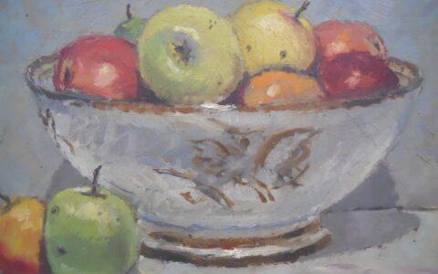 Victor Qvistorff - Seite 29a HVQ Stilleben Äpfel3